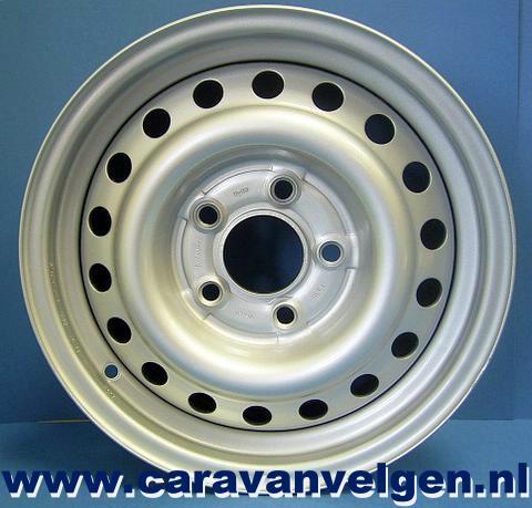 55jx15 Stalen Velg Voor Fendt Caravan 567112 Et 30 Draaglast 900kg
